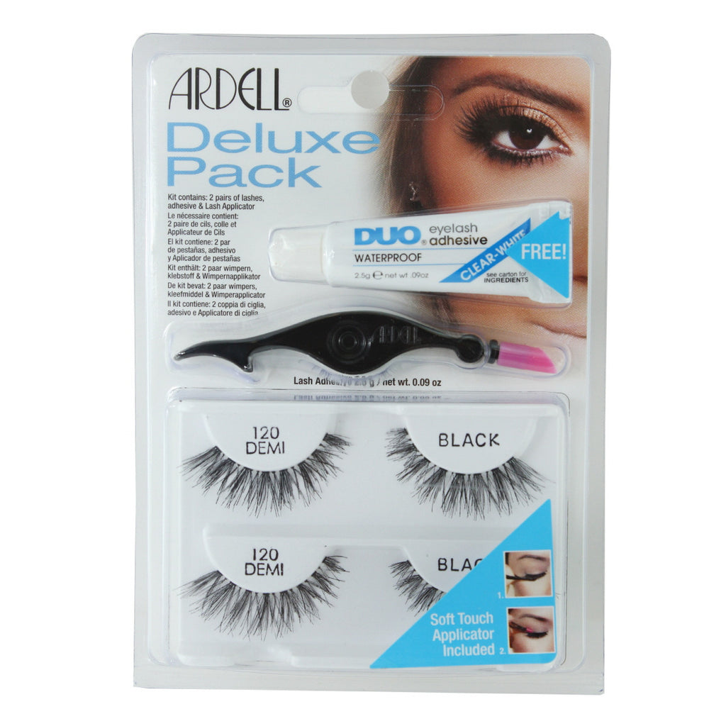 Ardell Deluxe Pack Lash Combo Pack, 120