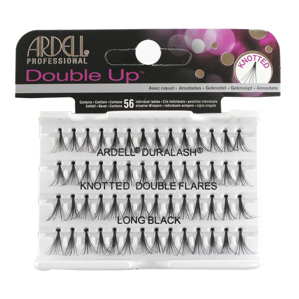 Ardell Double Up Knotted Eyelash Short Black