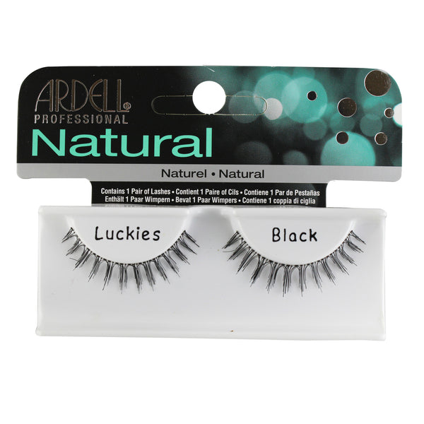 Ardell Invisiband Lashes, Luckies Black, 1 Pair