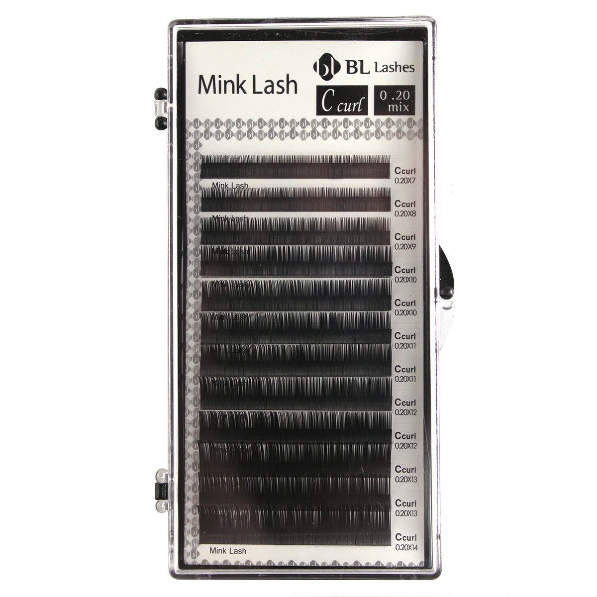 Eyelash Extension Blink professional eyelashes C Curl 0.20 mm