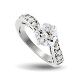 CZ Wedding Ring Set