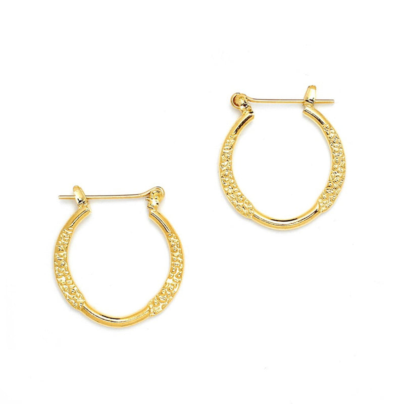 Diamond Cut Round Pincatch Earrings