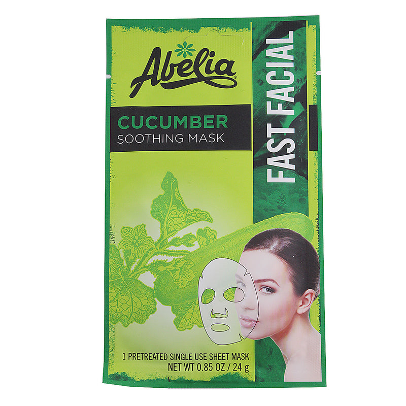 Abelia Cucumber Soothing Korean Face Mask