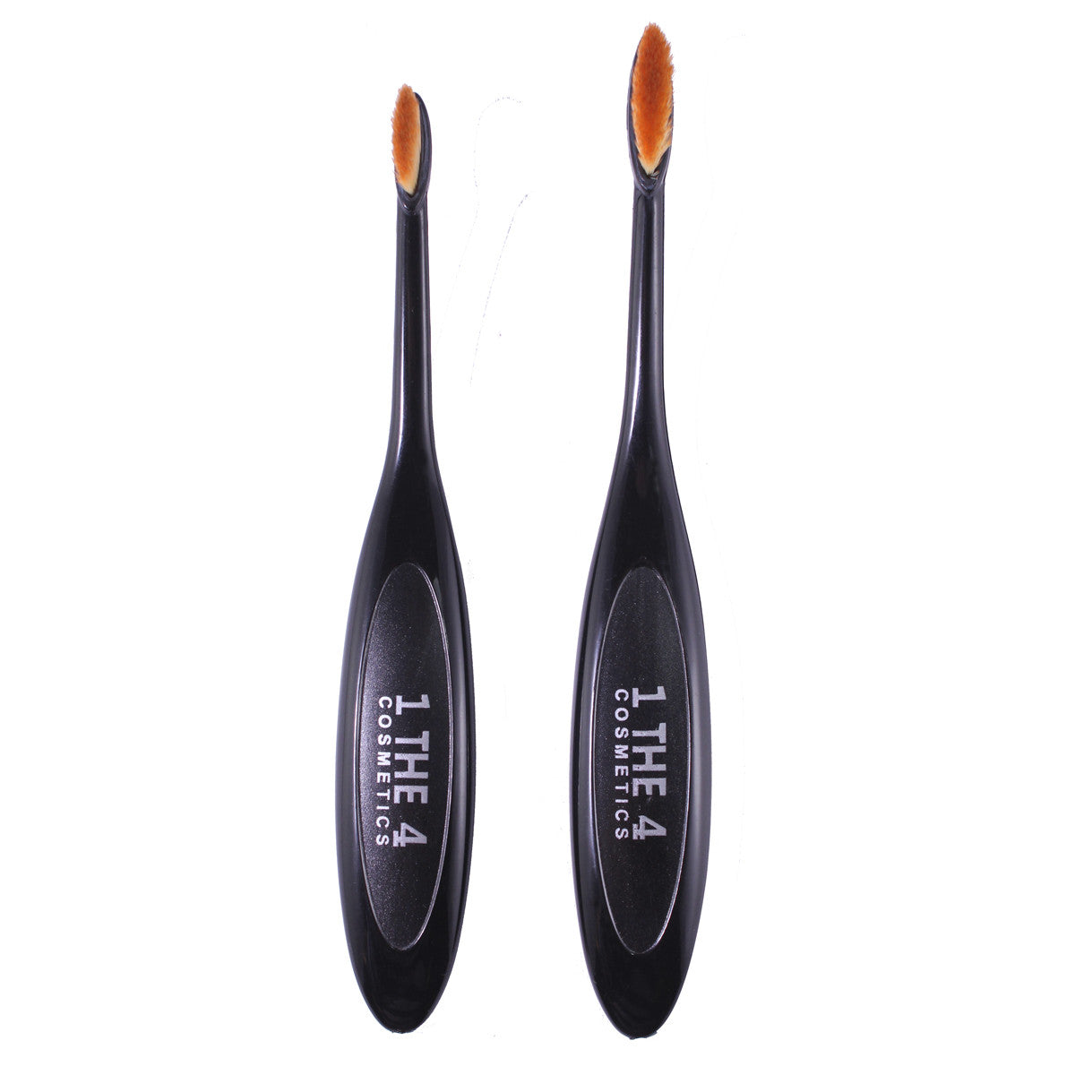 Foundation Oval Makeup Contouring Powder Brush 2 in 1 Set
