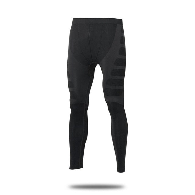 Yuerlian Men Compression Tight Long Pants Yoga Sports Bodybuilding Trousers Quick Drying Fitness Skinny Leggings