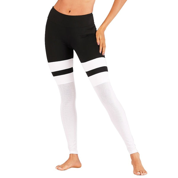 EFINNY Women Pants Stretchy Fitness Leggings Seamless Tummy Control Pants 2019 New