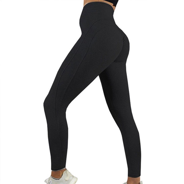 Women Push Up Legging Pants High Waist Seamless Casual Leggings Workout Gym Leggings Running Trousers