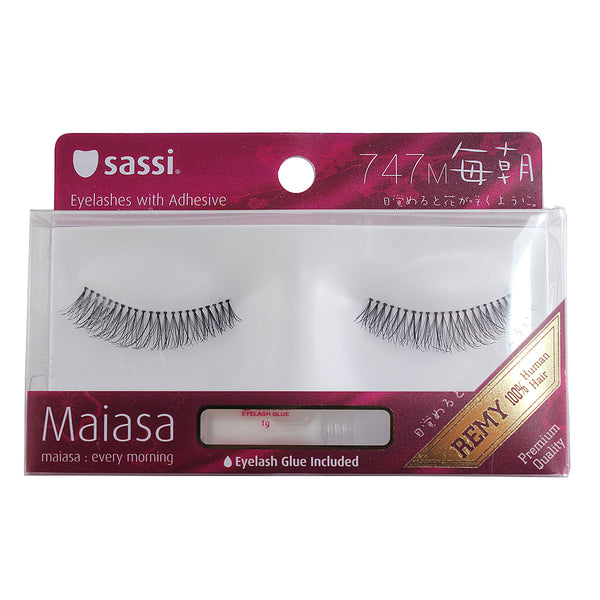 Sassi 803-747 Remy Hair Eyelashes,Balck