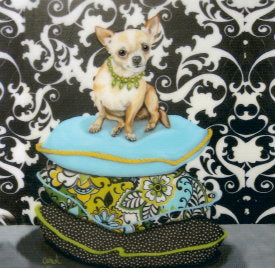 Chihuahua Decorative Art Tile