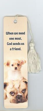 Chihuahua & Bulldog Bookmark