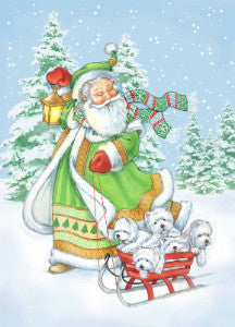 "Westie Christmas Cards ""Joyful Noise"""