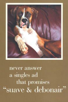Boxer Friendship Card