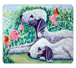 Bedlington Terrier Mouse Pad