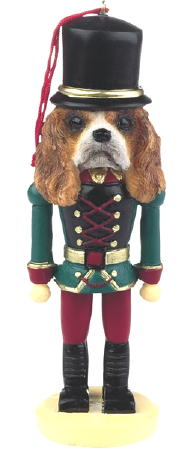 Cavalier King Charles Spaniel Toy Soldier Christmas Ornament blenheim