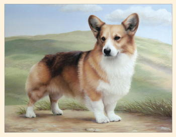 Pembroke Welsh Corgi Note Cards