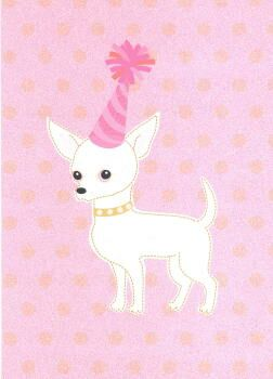 Chihuahua Birthday Card