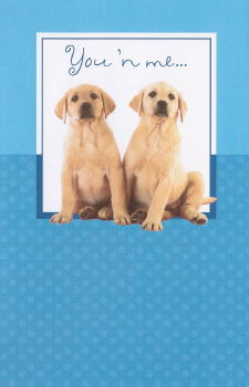 Labrador Retriever Friendship Card
