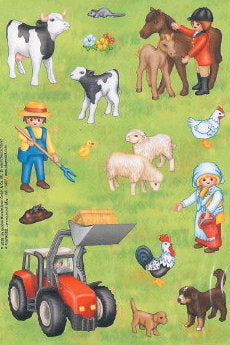 Farm Life and Farm Animal Stickers