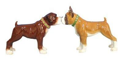 Boxer Salt and Pepper Shakers