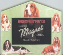 Basset Hound Magnetic Photo Frame