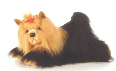 "Yorkshire Terrier Plush Toy ""Silky"""