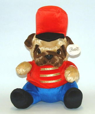 Toy Soldier Pug Plush Toy ~ large