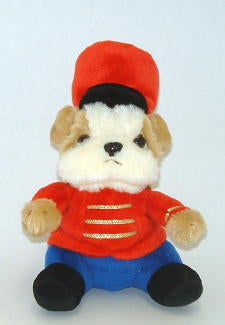 Toy Soldier Bulldog Plush Toy ~ mini