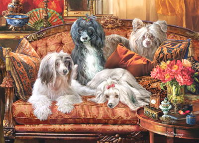 "Chinese Crested Mouse Pad ""Divas"""