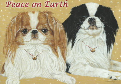 Japanese Chin Christmas Cards