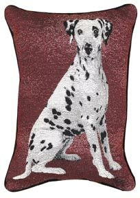 Dalmatian Tapestry Pillow