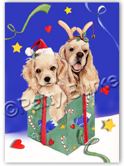 Cocker Spaniel Christmas Cards