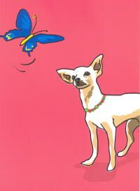 Chihuahua Friendship Card
