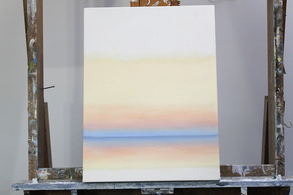 How to blend colours with oil paint