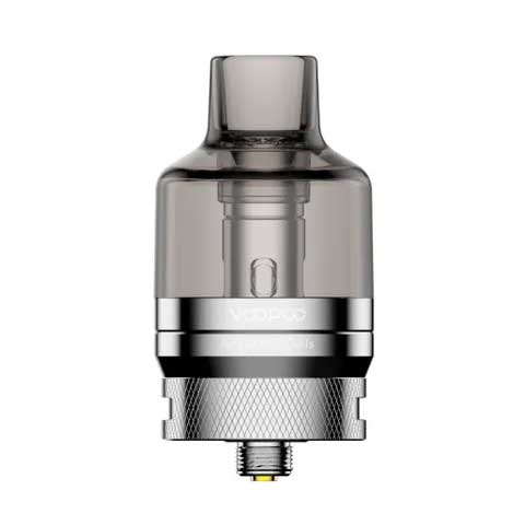 Voopoo PnP Pod Tank (Fits Drag X and Drag S) Stainless Steel