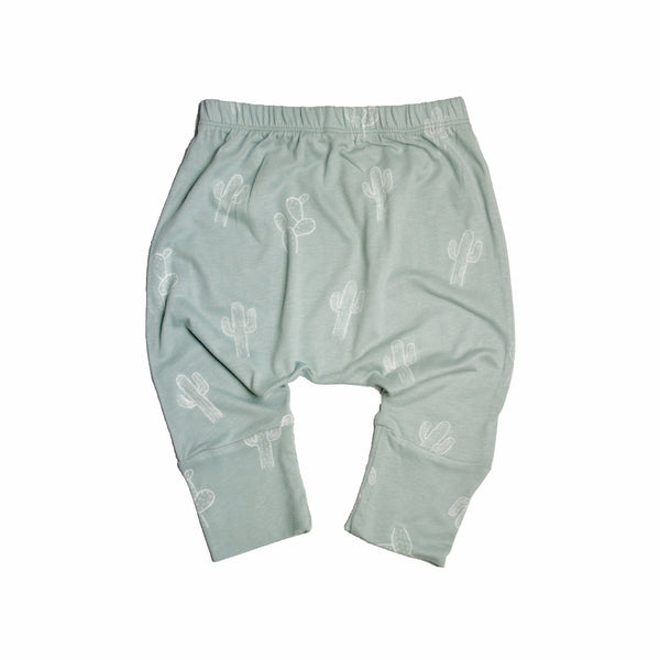 Little Urban Apparel - Cactus Mint Cropped Harems