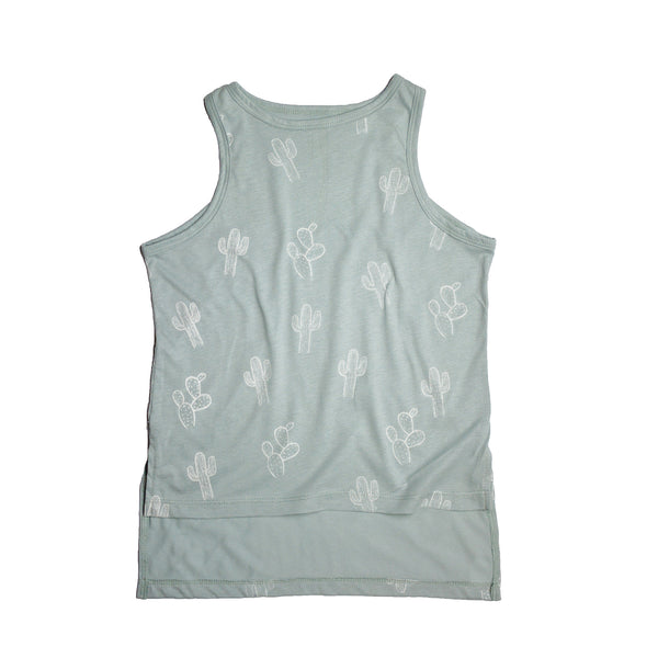 Little Urban Apparel - Cactus Mint Tank top