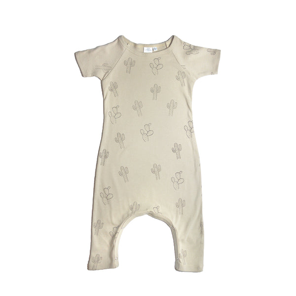 Little Urban Apparel - Cactus Tan Romper