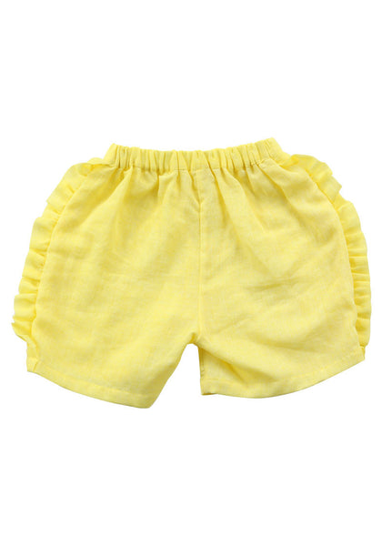 Anais & I - Isabel Shorts - Yellow