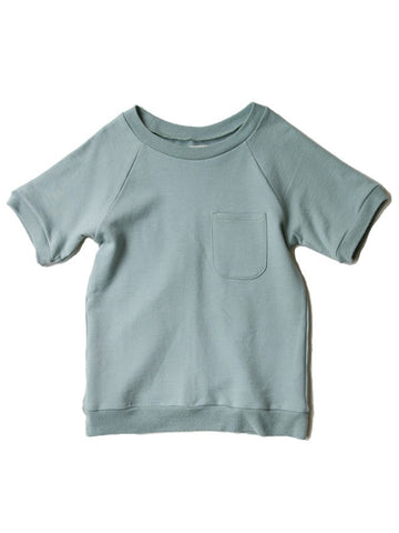 Boy+Girl - Short Sleeve Knit Tee - Sage