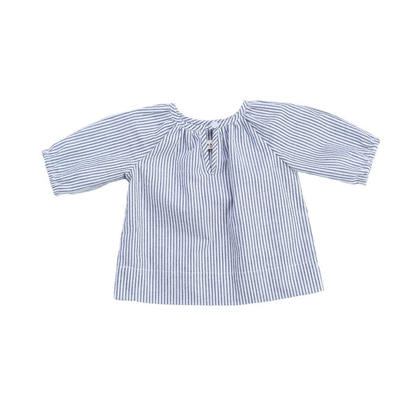 Anais & I - Camille Top - Navy Glitter Stripe