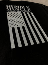 Mens Tee | HM Stars & Stripes | Black