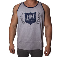 Mens Tank | HM Shield | Heather Grey
