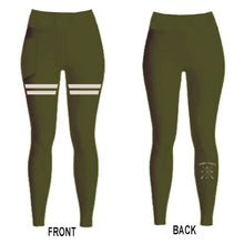 Ladies Leggings | HM X | Military Green