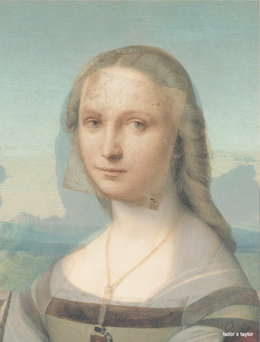raphael sketches over mona lisa isleworth showing similarities same picture photo