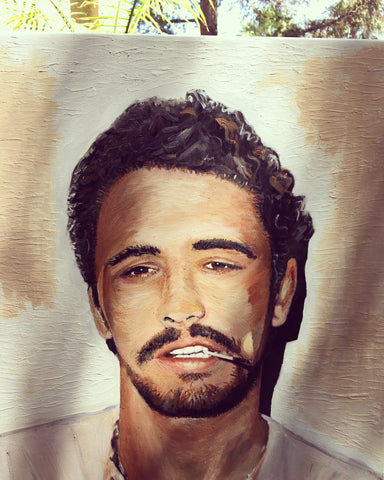James Franco -- Acrylic on Canvas