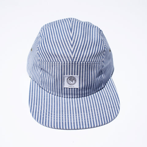 Seersucker 5-Panel Hat