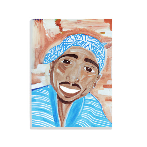 Tupac (acrylic 18x24 canvas)