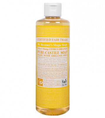 Dr. Bronners Citrus Oil Castile Soap
