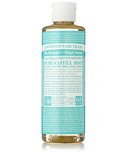 944ml dr. bronners unscented castile soap