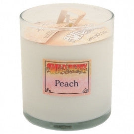 Wild Berry Soy Wax Candle- Peach